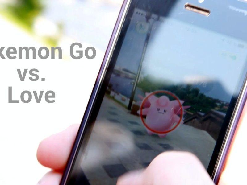 Pokemon Go vs Love